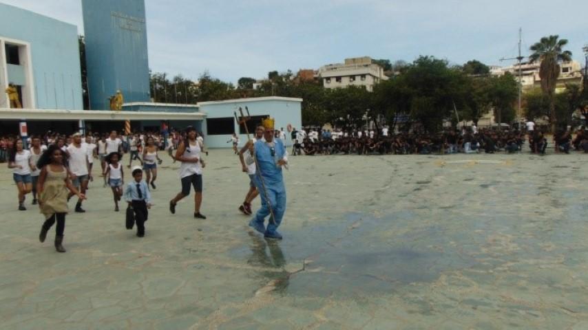 En el bautizo 152 Estudiantes se juramentaron como nuevos Tripulantes del buque académico