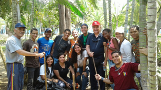Comunidad universitaria realizó cayapa de limpieza en la Marítima